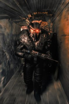 """Tagged with gaming, fallout, fallout dump, enjoy; Shared by """"patrolling the mojave almost makes you wish for a nuclear winter"""" Fallout Art, Fallout Concept Art, Fallout New Vegas, Fallout Power Armor, Fallout Wallpaper, Fallout Cosplay, Nuclear Winter, Post Apocalypse, Apocalypse Armor"""