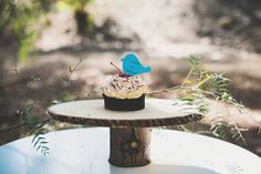 Only 75 cents each  Bird Cupcake Toppers  by KraftedSweetMemories, $0.75