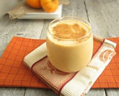 Pumpkin Pie Smoothie - Smoothie, Pumpkin, Pie, Drink, Abstract, Glass, Bakery, Dessert, Pumpkin Pie, Abstract Glass