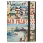 San Francisco vintage travel poster Case For iPad Air