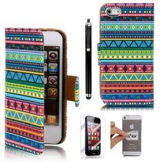 iphone 5 wallet case tribal