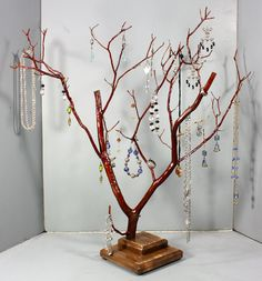 Jewelry Tree  LARGE Manzanita  1101 by RedBarkDesigns on Etsy, $39.00
