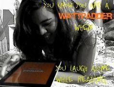 You laugh alone