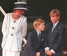 Princess Diana and the boys