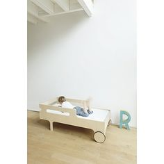 R Toddler Bed By Rafa Kids