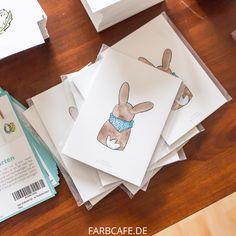 Ostern naht und mit diesem tollen Set kannst du deine Liebsten mit Grüßen per Postkarte versorgen!