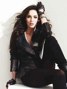 Megan Fox. Biker Chick.