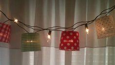 Guirnalda luces de navidad, $170 en http://ofeliafeliz.com.ar