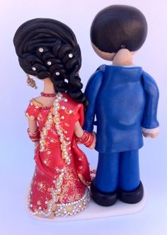 Indian Wedding Cakes, Themed Wedding Cakes, Themed Cakes, Indian Weddings, Bride And Groom Cake Toppers, Wedding Cake Toppers, Fantasy Wedding, Dream Wedding, Wedding Anniversary Cakes