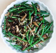 This might not look like your typical Green Bean Casserole, but let me tell you, it is goooood!