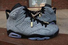 e159e0262d2 Cement Nike Air Jordan 6 retro custom Air Jordan Sneakers