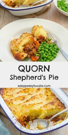 delicious, easy, family friendly classic with a twist, this Quorn Shepherd's Pie uses Quorn mince instead of the traditional lamb, meaning this version is both vegetarian and much quicker to prepare – perfect for busy weeknights! Quorn Recipes, Healthy Pie Recipes, Mince Recipes, Veggie Recipes, Cooking Recipes, Quorn Foods, Healthy Food, Healthy Eating, Savoury Recipes