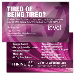 images of Le-vel business cards - Google Search