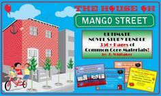 House on Mango Street Ultimate Novel Study Bundle -- 350+ Pages of Common Core Resources!