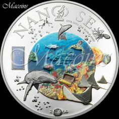 NANO SEA Cook 2014 Silver Proof Coin with Nano Chip Inserted ¡¡¡WATCH VIDEO!!!