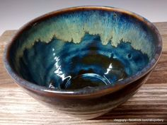 Hey, I found this really awesome Etsy listing at https://www.etsy.com/listing/267966272/northern-lights-ceramic-cereal-bowl