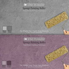 Sponge Painting ORIGINAL & OFFICIAL Faux Finish Painting – The Woolie