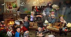 La soirée inoubliable – Têtes à claques.  http://rienquedugratuit.ca/videos/la-soiree-inoubliable-tetes-a-claques/