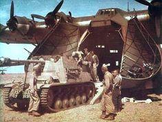 WW2 Photos - Marder and Messerschmitt Gigant