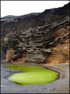 El Golfo Lanzarote   Spain   by migajiro, via Flickr
