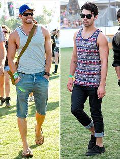 Vest Men Style Festivals
