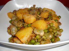 Receta Estofado vegetal, para Etyam - Petitchef