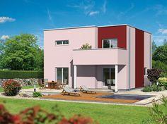 Biohaus - Avantgarde Stil Gartenansicht