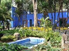 Frida Kahlo, inspiración para un jardín estilo mexicano - http://www.jardineriaon.com/frida-kahlo-inspiracion-para-un-jardin-estilo-mexicano.html