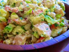 Mr Chia's Vegan Curried Potato Salad.  This vegan curried potato salad with chia seeds from Dr Wayne Coats is delicious and perfect for fabulous vegetarian side dish.