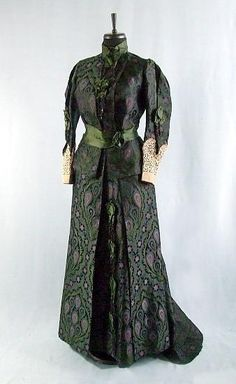 1880 dress by House of Worth