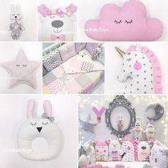 """Всем сладких розовых принцессовых снов!  Заказать бoртики из коллекции """"Маленькая принцесса"""" можно на сайте lovebabytoys.ru, в Viber или WhatsApp по номеру +7-913-625-45-55 ✨"""