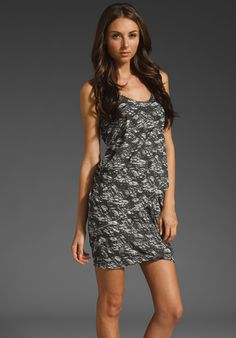 rag & bone/JEAN Adelaide Drape Dress thestylecure.com