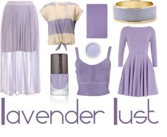 Lavender Lust in the midst of spring? Check out writer Megan's latest color board!
