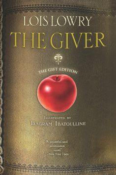 The Giver by Lois Lowry ($5.01) http://www.amazon.com/The-Giver-illustrated-gift-edition/dp/B008EEZ64Y%3FSubscriptionId%3D%26tag%3Dhpb4-20%26linkCode%3Dxm2%26camp%3D1789%26creative%3D390957%26creativeASIN%3DB008EEZ64Y&rpid=vg1391703453/The_Giver_illustrated_gift_edition