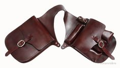 Horse Trail Riding Medicine-Trail Bag - Dark Oil Leather #Tough1