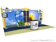 20' Modular DesignLine Inline Display - ID30194N - Trade Show Booths