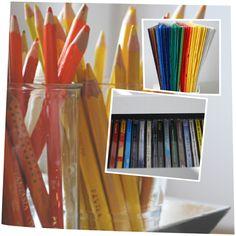 Ordnung zu Hause: ordnung farben grupieren