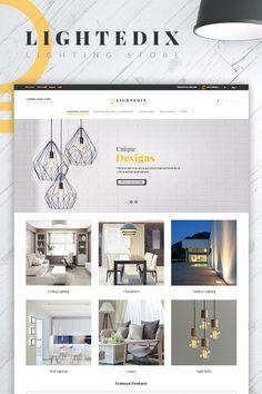 Lightedix - Lighting Store PrestaShop Theme Big Screenshot