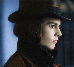 """""""I'm sorry, I was having a flashback."""" Flashback to Charlie and the Chocolate Factory, with the Anniversary Blu-ray™, available March Pre-order your copy now. Johnny Depp Willy Wonka, Young Johnny Depp, Tim Burton Animation, Willy Wanka, Johnny Depp Characters, Johnny Movie, Charlie Chocolate Factory, Estilo Tim Burton, The Hollywood Vampires"""