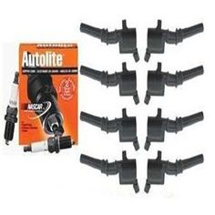 8 Ignition Coils & Spark Plugs 97 98 99 00 01 02 03 F-150 5.4L kit $91.45 free shipping