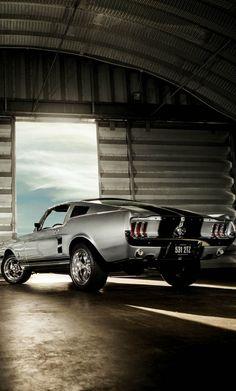 It is a man world # Mustang - Klassiche Ford Auto - Cars Mustang Fastback, Mustang Cars, 1967 Mustang, Shelby Mustang, Mustang Hatchback, Shelby Gt500, Ford Mustangs, Maserati, Ferrari
