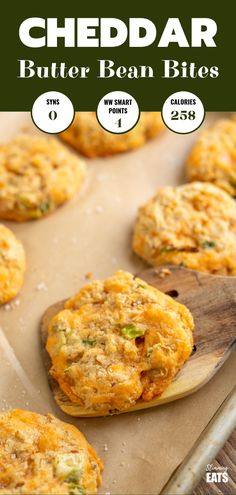 Syn Free Cheddar Butter Bean Bites - delicious cheesy bites, perfect for dipping, snacking, picnics or lunches. Slimming World Taster Ideas, Slimming World Recipes Syn Free, Healthy Eating Recipes, Veggie Recipes, Healthy Snacks, Vegan Lunches, Veggie Meals, Veggie Dishes, Free Recipes