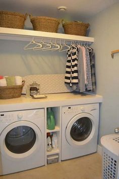 Diy Laundry Room Ideas Small If you are looking for Diy laundry room ideas small you've come to the right place. We have collect images about Diy laundry room ideas small includin. Laundry Room Shelves, Laundry Room Layouts, Laundry Room Remodel, Basement Laundry, Farmhouse Laundry Room, Small Laundry Rooms, Laundry Room Organization, Laundry Room Design, Storage Shelves
