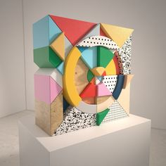 Layers solid colur Showcase and discover creative work on the world's leading online platform for creative industries. Concept Models Architecture, Memphis, 3d Things, Pop Art, 3d Artwork, Creative Industries, Motion Design, Fractal Art, 3d Design