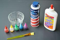 Met 3 ingrediënten maak je deze ultieme 3D verf! Laat tekeningen van kinderen tot leven komen!