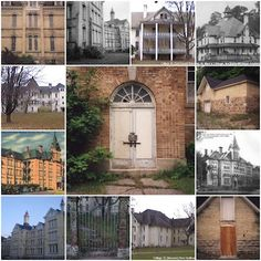 State Hospital, Traverse City, Michigan. Lovely old haunted buildings.
