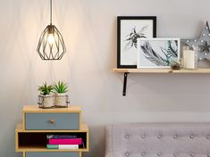 Metallinen kattovalaisin musta - MAGRA_691496 Beliani, Wrought Studio, Discount Furniture, Geometric Pendant, Metal Industrial Pendant, Home Decor Decals, Furniture, Floating Nightstand, Industrial Pendant Lamps