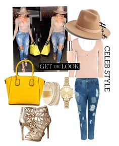 """""""#hats!"""" by koodita on Polyvore featuring LULUS, Lack of Color, GUESS, New Look, Rimmel, GetTheLook and hats"""