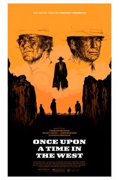 Alternative movie poster for Once Upon a Time in the West by Oliver Barrett