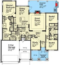 3 Bed Exclusive Craftsman House Plan - 48529FM   Craftsman, European, Exclusive, 1st Floor Master Suite, Bonus Room, Butler Walk-in Pantry, Den-Office-Library-Study, Jack & Jill Bath, Media-Game-Home Theater, Split Bedrooms   Architectural Designs